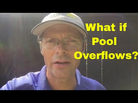 Pools 101: Will It Hurt My Pool If It Overflows Due To Heavy Rains?