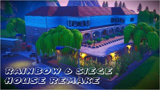 "Rainbow 6 Siege ""House"" Remake on Fortnite Creative 