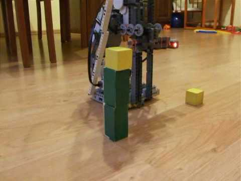Lego Mindstorms NXT Tower Builder