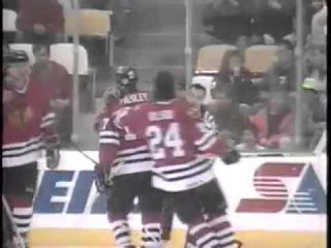 Chicago Blackhawks 1990-91 Season Video Part 5