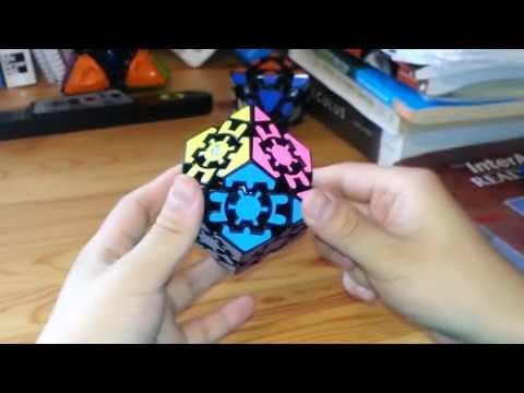 Tutorial-Gear Change (Rhombic Dodecahedron Gear Cube)