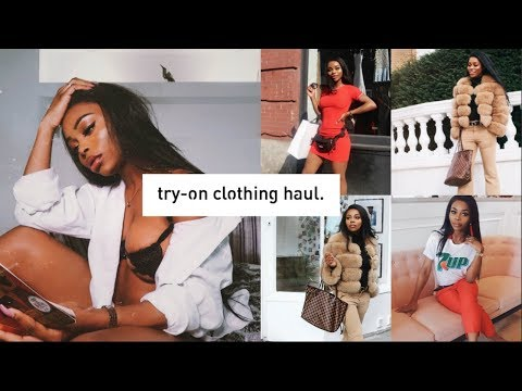 I SPENT £1200 on Louis Vuitton, Missy Empire + more • Clothing Try-On Haul