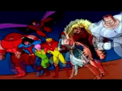 X-MEN 90's Intro Theme HD