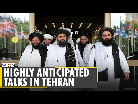 Taliban and Afghan delegation hold meeting in Tehran | US Troops withdrawal | English World News