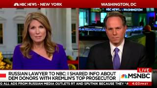 MSNBC NYT Won't Let Go Of Trump Russia Collusion Narrative