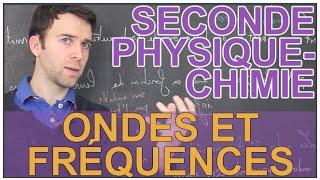Les ondes et leurs fréquences - Physique-Chimie - Seconde - Les Bons Profs