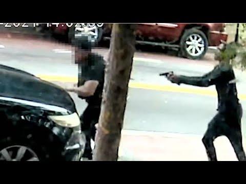 RAW VIDEO: DC gunman opens fire in broad daylight in Southeast