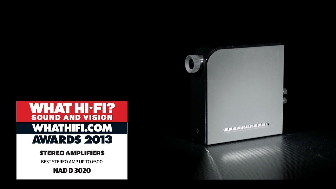 What Hi-Fi - D 3020 Best Amplifier Award - NAD Electronics