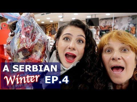 SERBIAN FOOD SUPERMARKET TOUR BELGRADE EP. 4  | TRAVEL VLOG IV