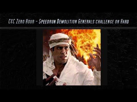 [C&C Zero Hour] Speedrun - Demolition Challenge on Hard Mode