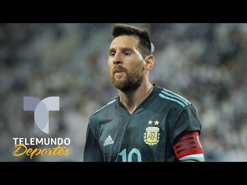 ¿Llegará pleno para Uruguay? La foto de Messi que preocupa a todo el mundo | Telemundo Deportes