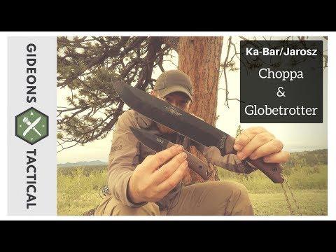 Do They Work Well Together? Ka-Bar/Jarosz Choppa & Globetrotter