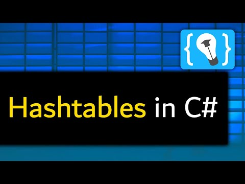 Was sind Hashtables in C#? - Tutorial (Deutsch)