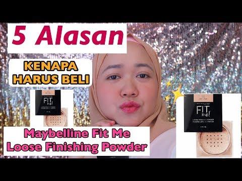 5 Alasan Harus Beli Maybelline Fit Me Loose Finishing Powder | Anis Kencana
