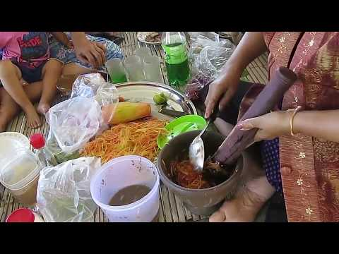 Laos Food , How to Make Laos Cooking Food