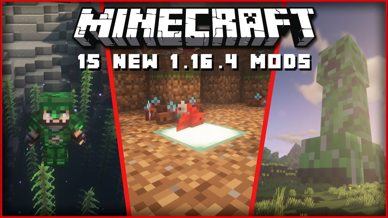 Top 15 New Minecraft 1.16.4 Mods Released This Week! [FORGE & FABRIC] | Giant Creepers, Betta Fish! - YouTube