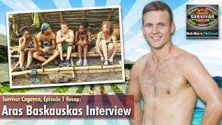 Survivor Cagayan Premiere Recap: Aras Baskauskas Interview