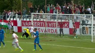 Matija Misic győztes gólja a Kisvárda - ZTE FC mérkőzésen.