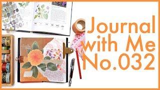 Journal with Me No. 032 | Midori Traveler's Notebook