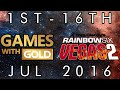 Games With Gold | Tom Clancy's Rainbow Six: Vegas 2 | 1st - 16th July 2016