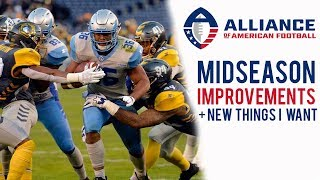 AAF Midseason Improvements - Alliance of American Football Lives up to Hype