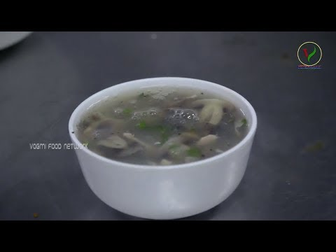 Hot And Sour CHICKEN MUSHROOM SOUP / Quick & Easy Chicken Soup Recipe