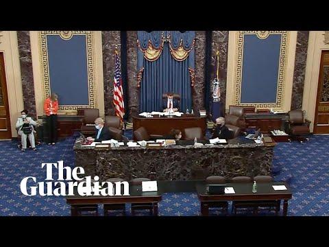 Amy Coney Barrett: US Senate debates Trump's third supreme court nomination – watch live