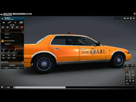 VEHICLE CUSTOMIZATION: NYC Taxi