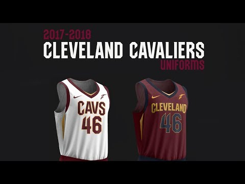 Cavaliers Unveil All New Nike Uniforms