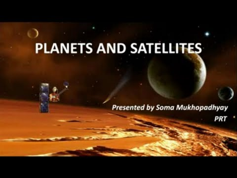 Planets and satellites - CBSE Class VI Social Science lesson