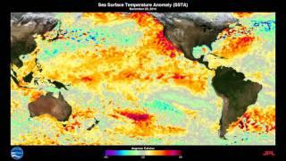 ENSO Sea Surface Temperature Anomalies: 2015