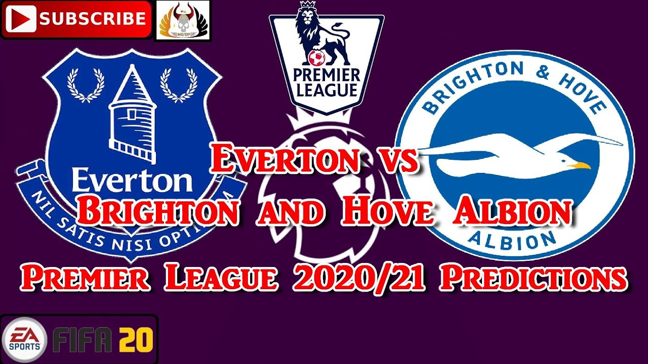 Everton Vs Brighton And Hove Albion 2020 21 Premier League Predictions Fifa 20 Youtube