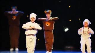 София в центре, белый мишка  Тодес! Крокус сити холл декабрь 2015г