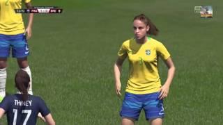 FIFA 16 FINALE DE LA COUPE DU MONDE FEMININE France - Brésil