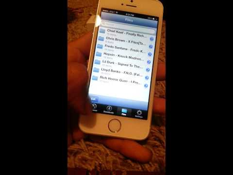 How to get free music on iphone 5s and 5 ios 7