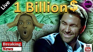(BREAKING News!) One Billion Dollars$$! - Eddie Hearn begins the American Invasion. (boxing podcast)