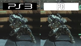 Vanquish | PS3 VS PC 4K | GRAPHICS COMPARISON