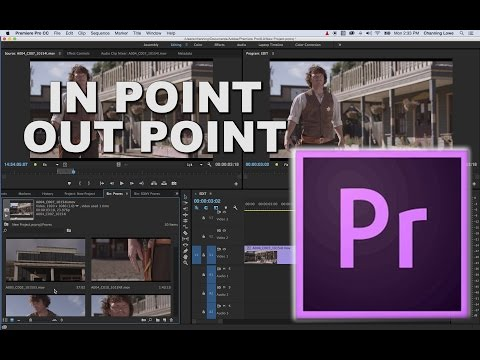 Episode 8 - Basic Editing Insert and Overwrite In and Out Points - Tutorial for Adobe Premiere Pro