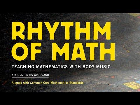 Rhythm of Math - Teaching Mathematics with Body Music Book/DVD