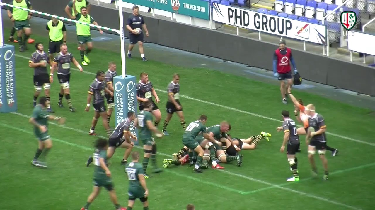 2a2d6f784ed TRY OF THE WEEK | London Irish v Nottingham - YouTube