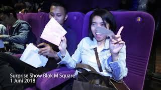 Video Surprise Show Blok M Square XXI dalam Rangka 1000 Layar! download MP3, 3GP, MP4, WEBM, AVI, FLV September 2018