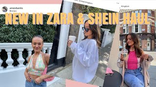 SPRING NEW IN ZARA & SHEIN TRY ON HAUL   I'M INLOVEEE😍✨   Ames Banks