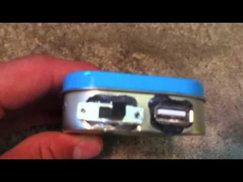 Altoids USB charger
