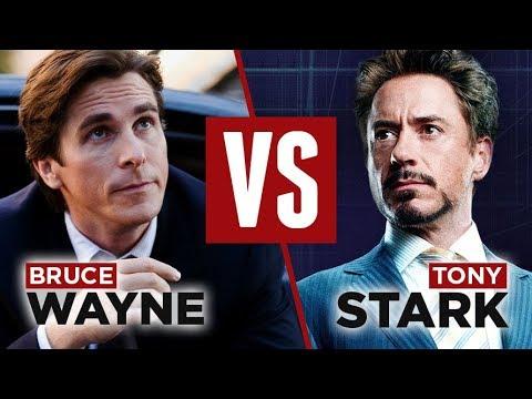 Bruce Wayne vs Tony Stark Style Showdown | RMRS