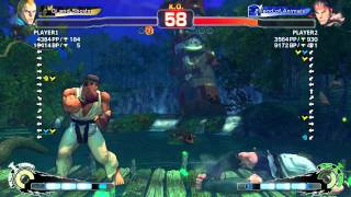 Keoma(Abel) VS Bruno(Ryu) SSF4 AE 2012 LIVE PC