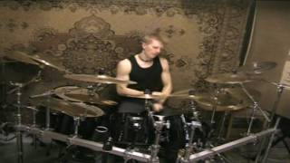 Nightwish -  Crimson Tide And Deep Blue Sea (Drums)