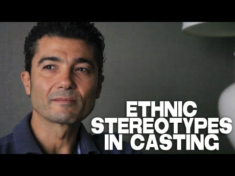 Ethnic Stereotypes In Casting by Khaled Nabawy