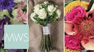 3 Bridal Bouquet Ideas | Bridal Blossom S1E1/8