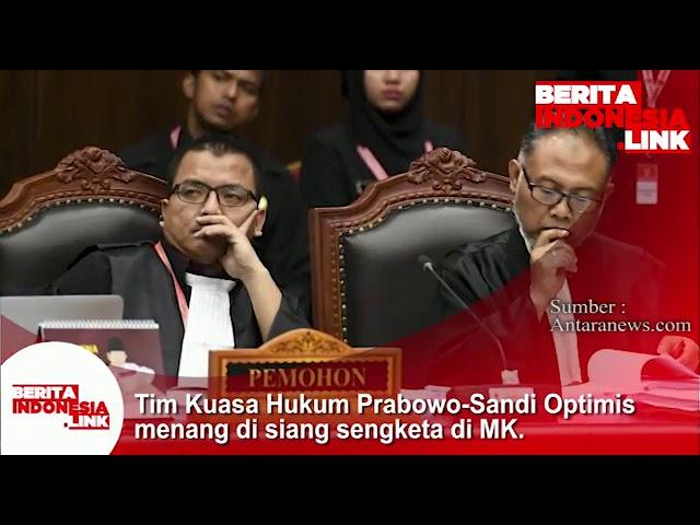 Tim Kuasa Hukum Prabowo-Sandi optimis menang disidang sengketa MK