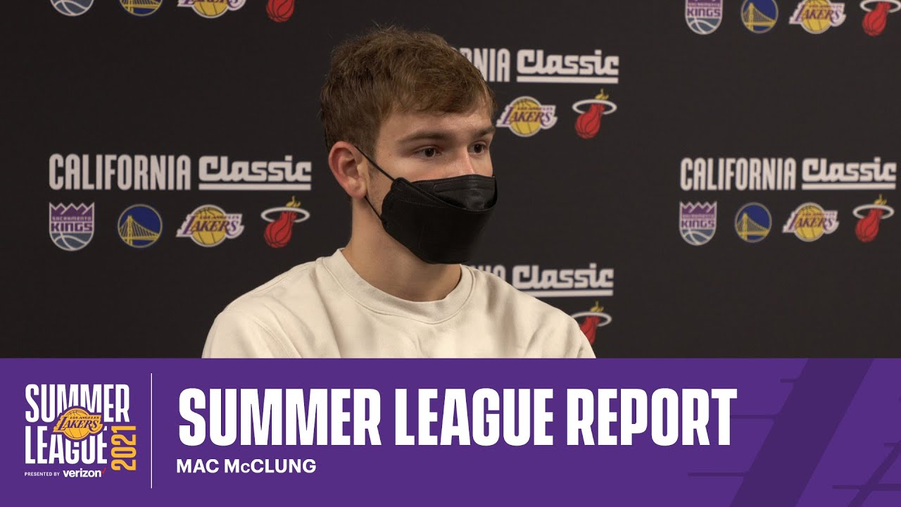 Postgame Report: Mac McClung (8/4/21)